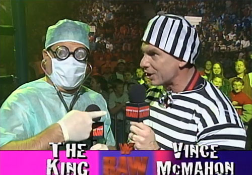 Jerry Lawler and Vince McMahon Halloween